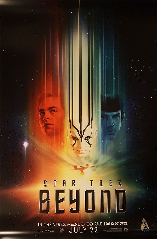 Cartel serie limitada de Star Trek: más allá