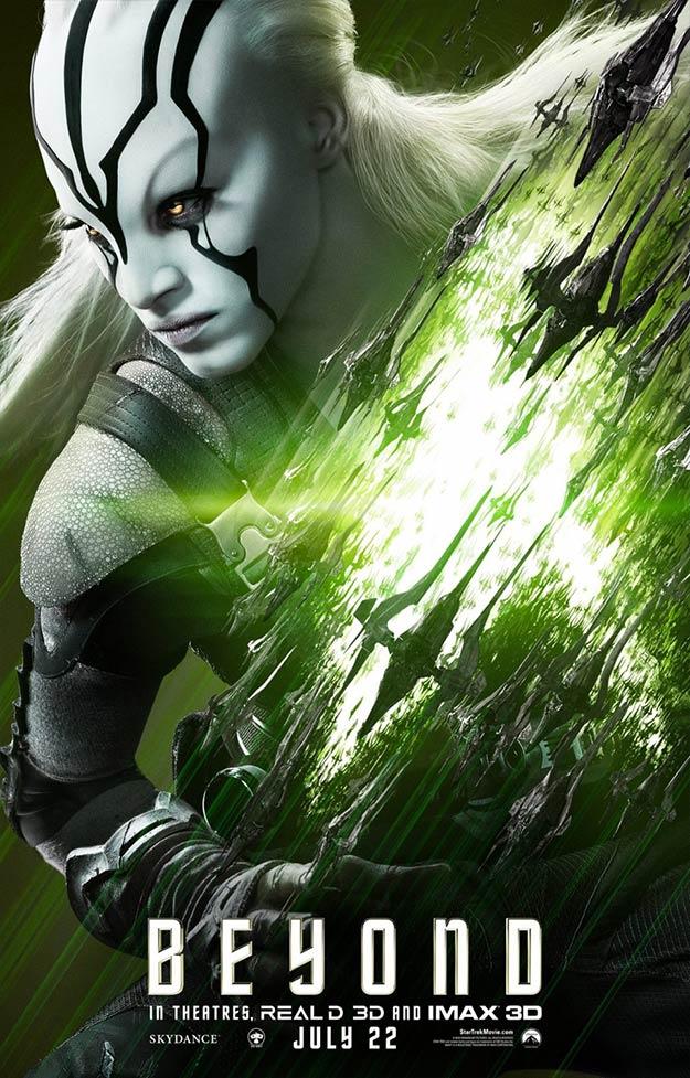 Jaylah (Sofia Boutella) en Star Trek: más allá