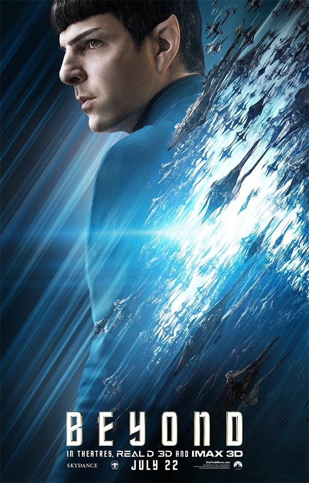 Spock (Zachary Quinto) en Star Trek: más allá