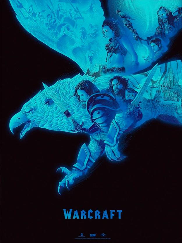 Cartel del lado humano para Warcraft por Kevin Tong