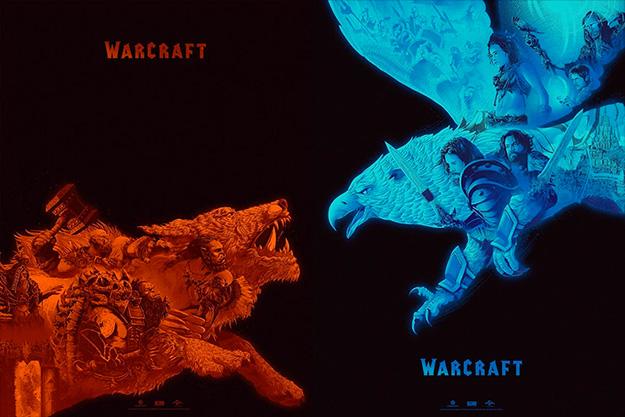 Carteles de Kevin Tong para Warcraft, juntos son una delicia