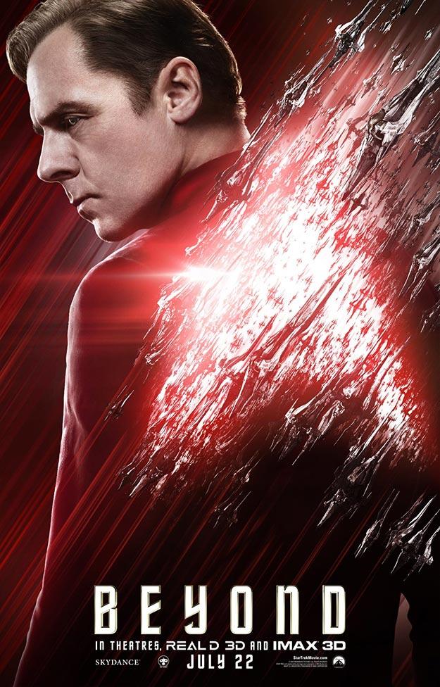 Scotty (Simon Pegg) en Star Trek: más allá