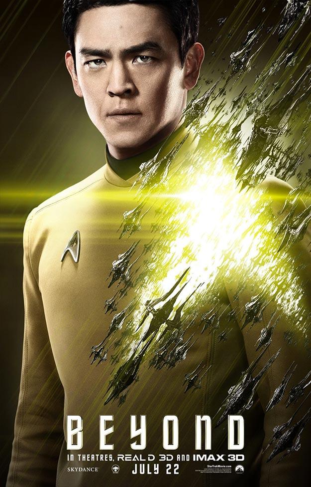 Sulu (John Cho) en Star Trek: más allá