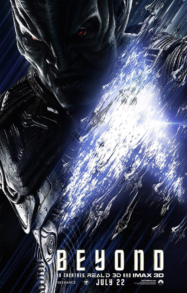 Krall AKA Idris Elba en Star Trek: más allá