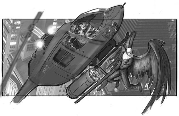 Concept art del Spider-Man de Sam Raimi que nunca fue