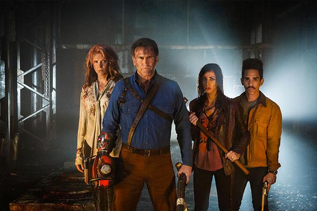 Imagen de la segunda temporada de Ash vs. Evil Dead