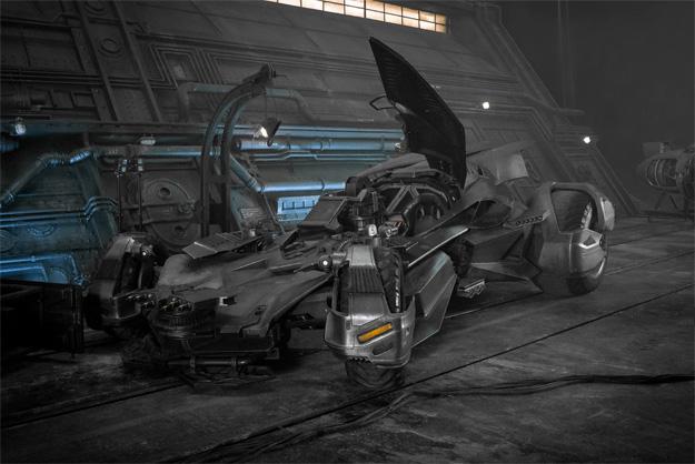 La nueva versión del Batmovil que veremos en Justice League