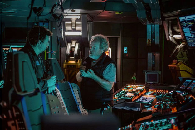 Danny McBride, dios en la comedia, enfrascado en el terror ciencia ficción de Ridley Scott que será Alien: Covenant