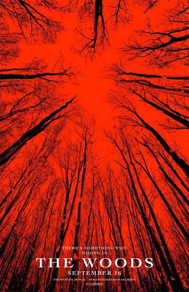 Nuevo cartel de The Woods