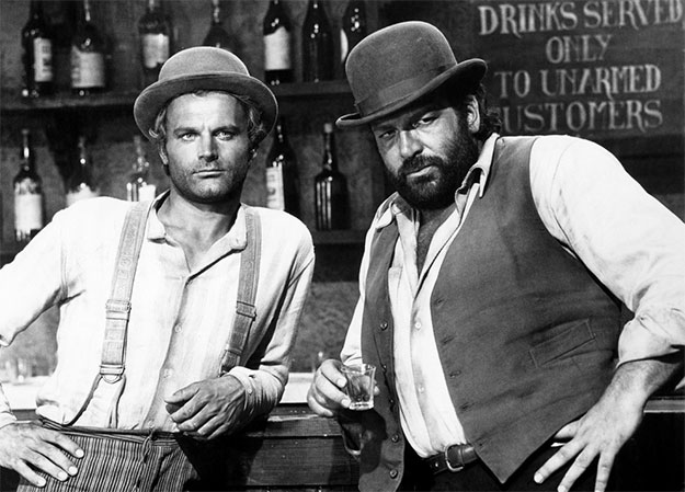 Terence Hill y Bud Spencer