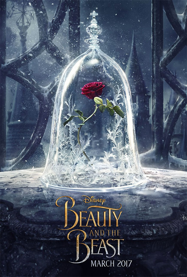 Primer cartel de Beauty and the Beast