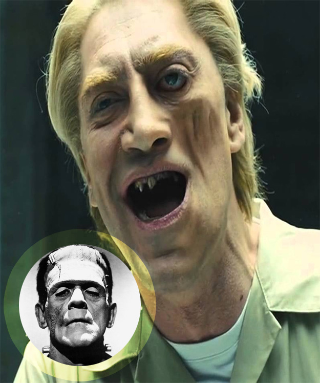 ¿Javier Bardem, monstruoso, tanteado / fichado para ser Frankenstein?