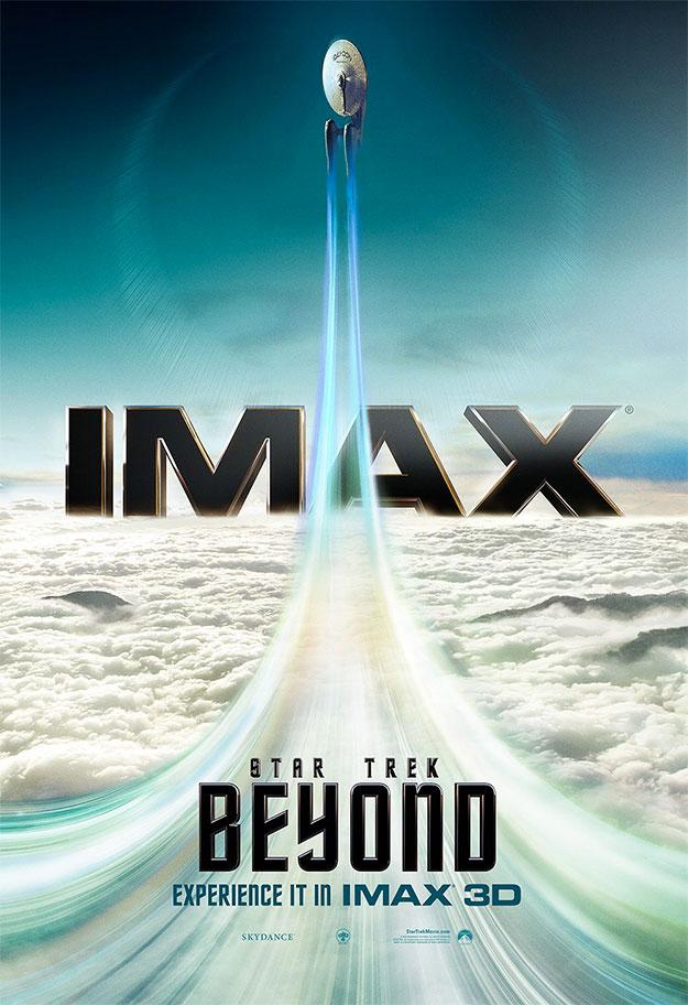 Cartel para IMAX de Star Trek: más allá