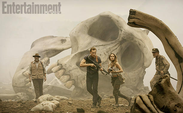 El cráneo de ese otro Kong es de un tamaño considerable