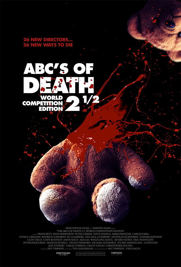 Carteles así ya no se hacen... ABC's of Death 2 ½: World Competition Edition