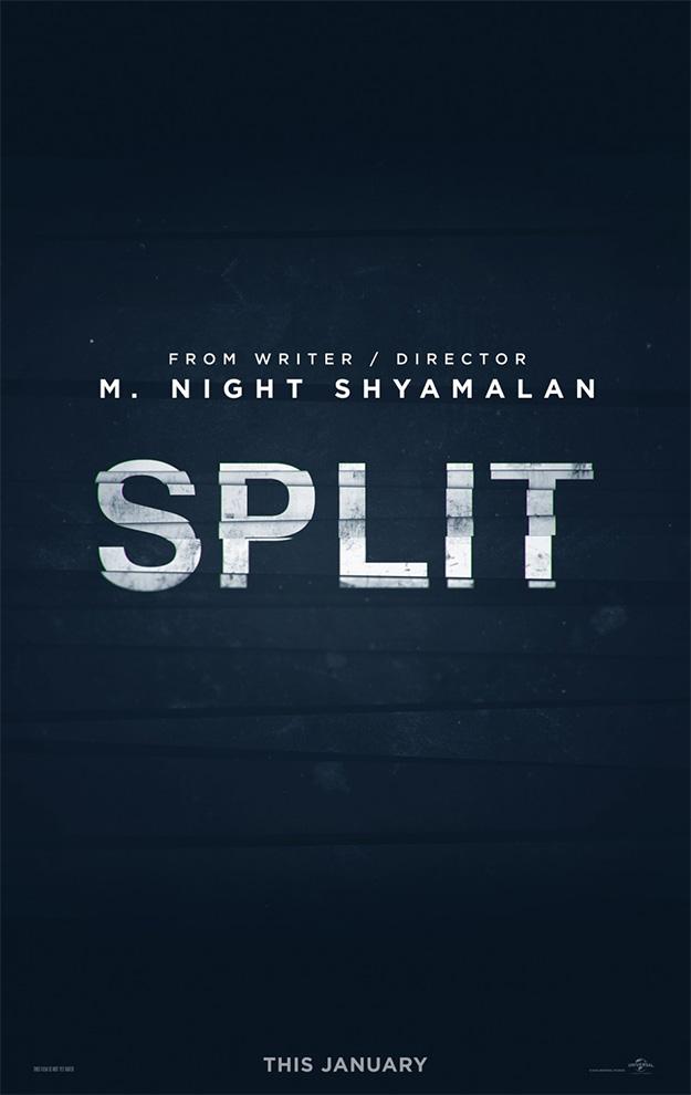 Uno de los carteles de Split de M. Night Shyamalan