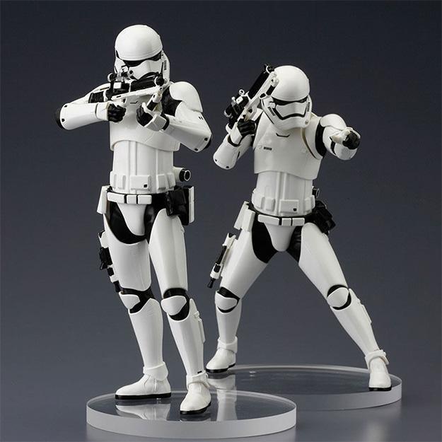 Un set de dos Stormtroopers de la Primera Orden por Kotobukiya