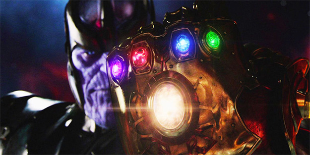 Las gemas del infinito en manos de Thanos... tiempo al tiempo