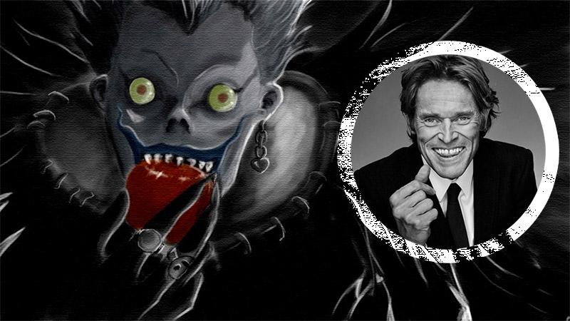 Willem Dafoe... nunca dejará de sorprendernos... ahora en Death Note