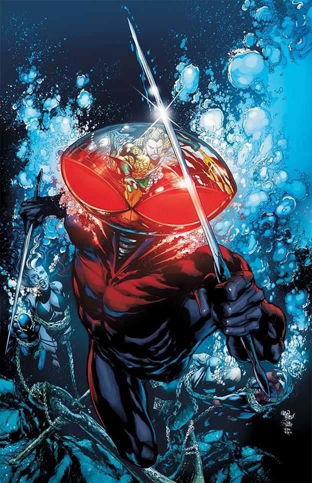 Manta Negra, un villano a la altura de Aquaman y molón tal cual para el cine