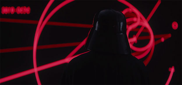 Rogue One: Una Historia de Star Wars... Darth Vader en persona