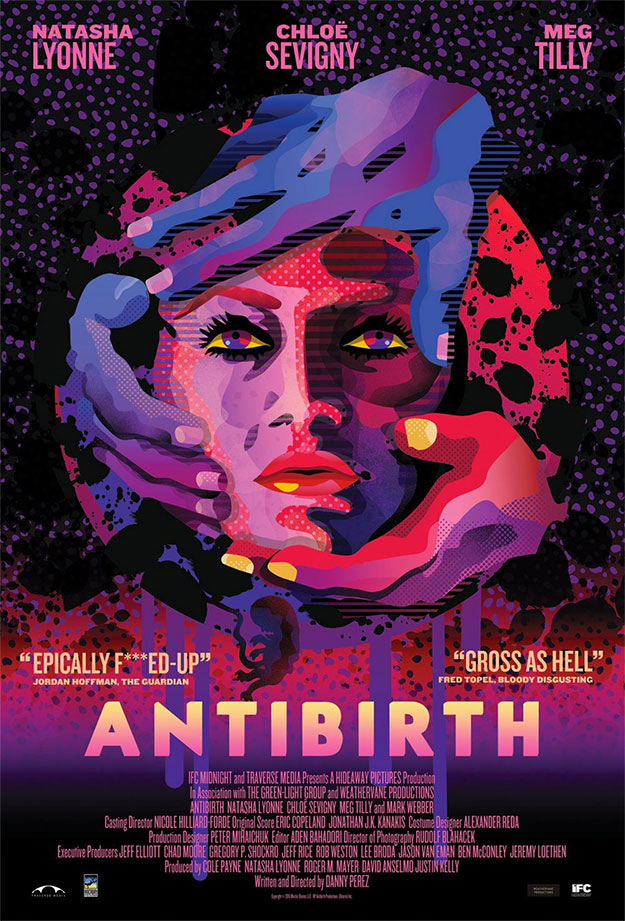 Bonito cartel de Antibirth