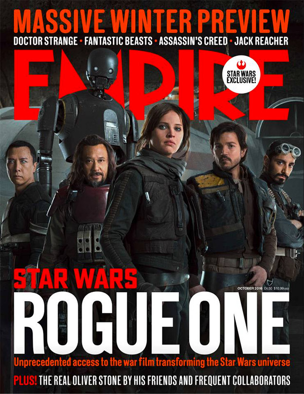 Bonita portada de Rogue One: Una Historia de Star Wars