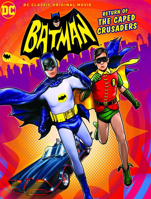 Cartel de Batman: Return of the Caped Crusaders