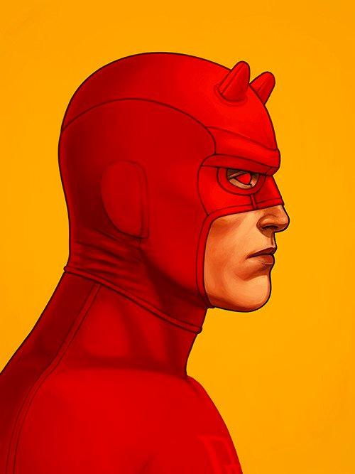 Daredevil y Bullseye