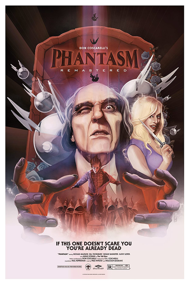 Cartel de Phantasm: Remastered