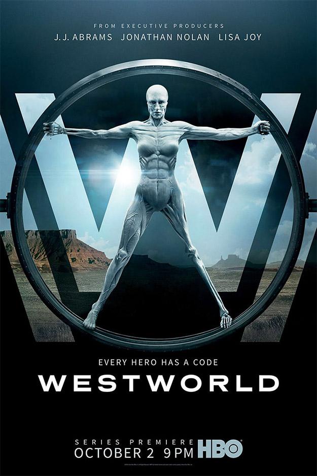 """Primer cartel de """"Westworld"""" de la HBO"""