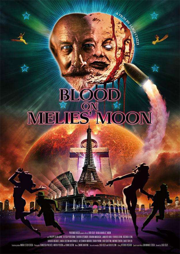 Cartel de Blood on Méliès' Moon de Luigi Cozzi