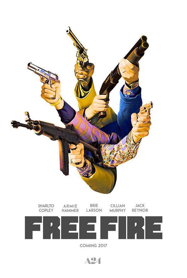 Original cartel este de Free Fire de Ben Wheatley