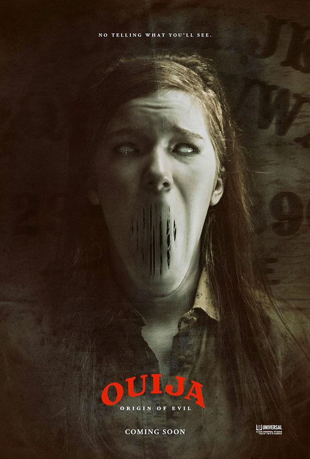 Un par de carteles de Ouija 2 AKA Ouija: Origin of Evil