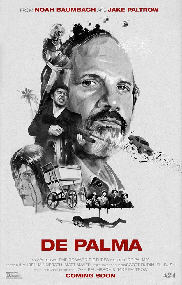 """Nuevo cartel de """"De Palma"""""""
