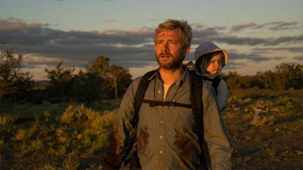 Primera imagen de Cargo con Martin Freeman haciendo de padre infectado