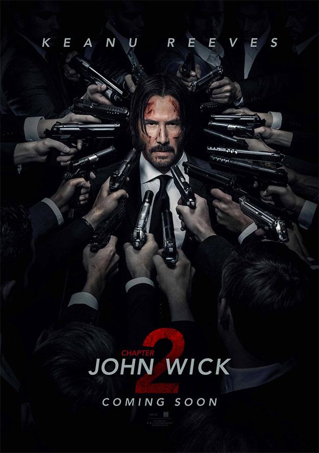 Mola este cartel de John Wick: Chapter 2