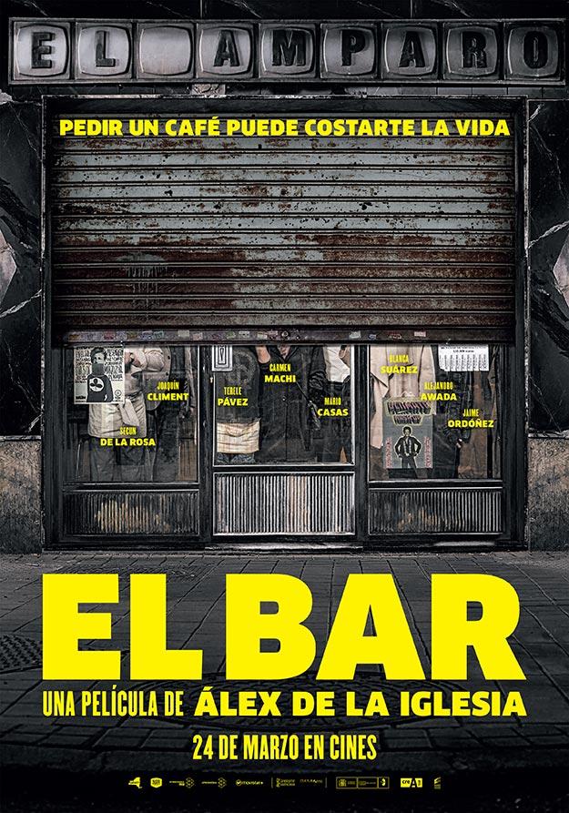 Cartel de El bar de Álex de la Iglesia