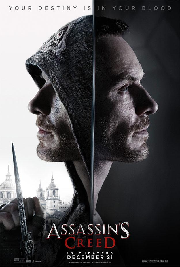 El nuevo cartel de Assassin's Creed, que se la pegará contra el muro Rogue One: Una Historia de Star Wars