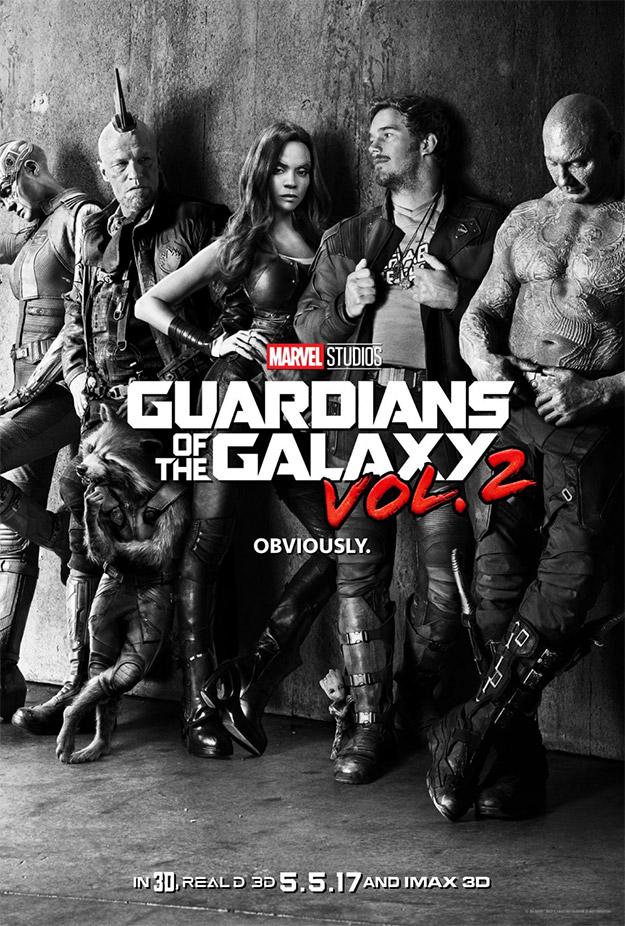 Obviamente, el primer cartel de Guardianes de la Galaxia Vol. 2