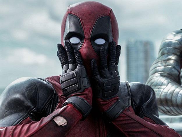 La cara que se le ha quedado a Deadpool tras la noticia...