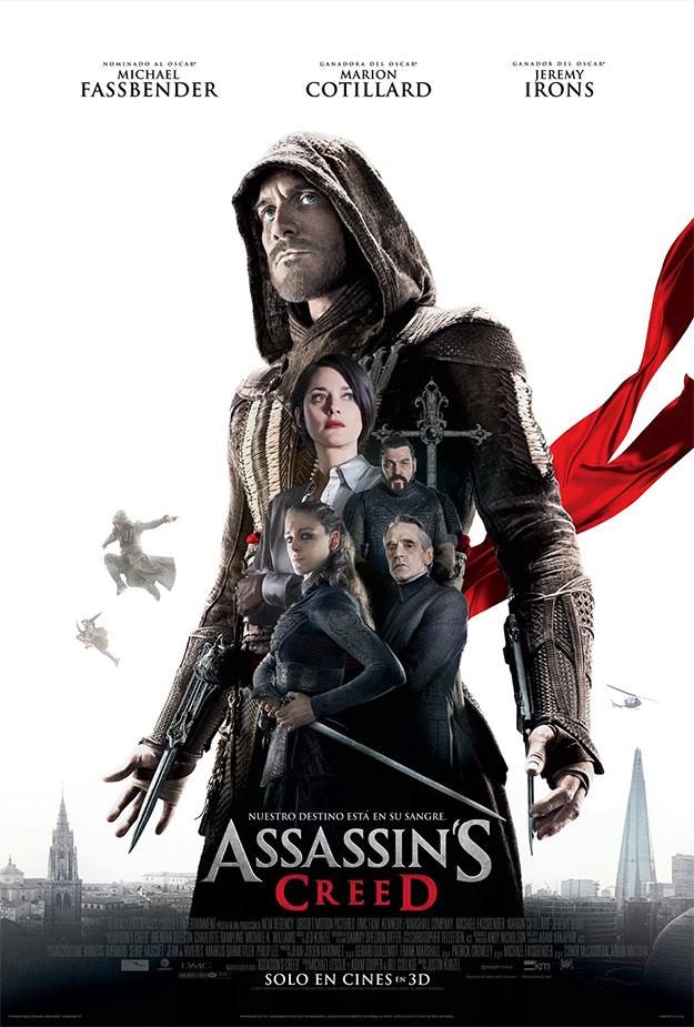 Y otro cartel más de Assassin's Creed