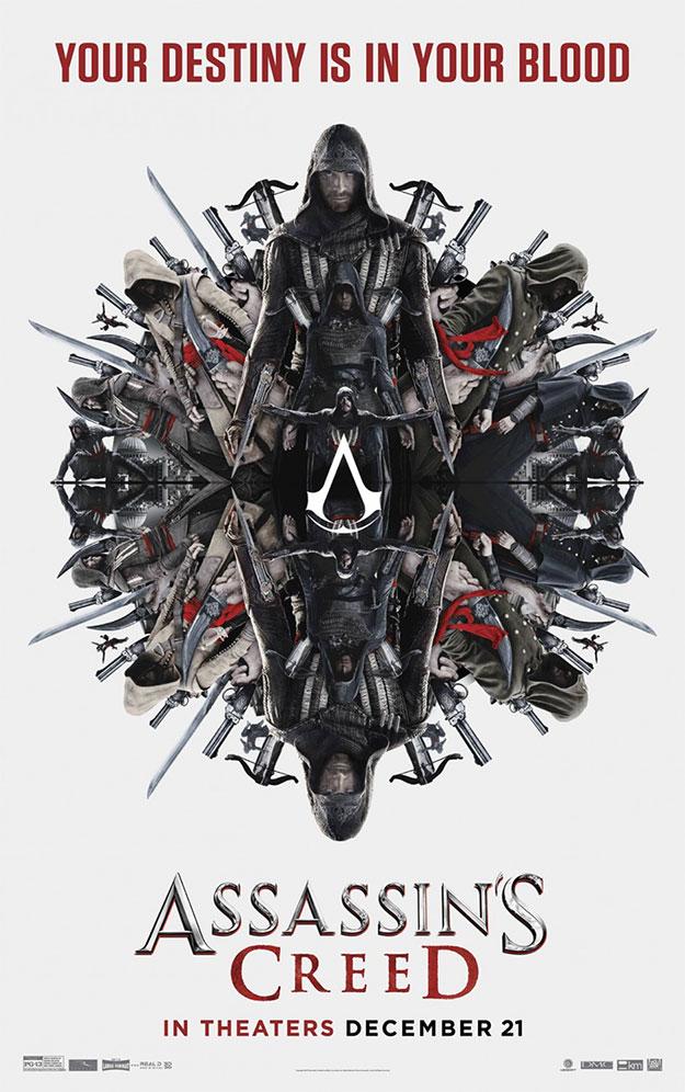 Otro cartel más de Assassin's Creed... mola