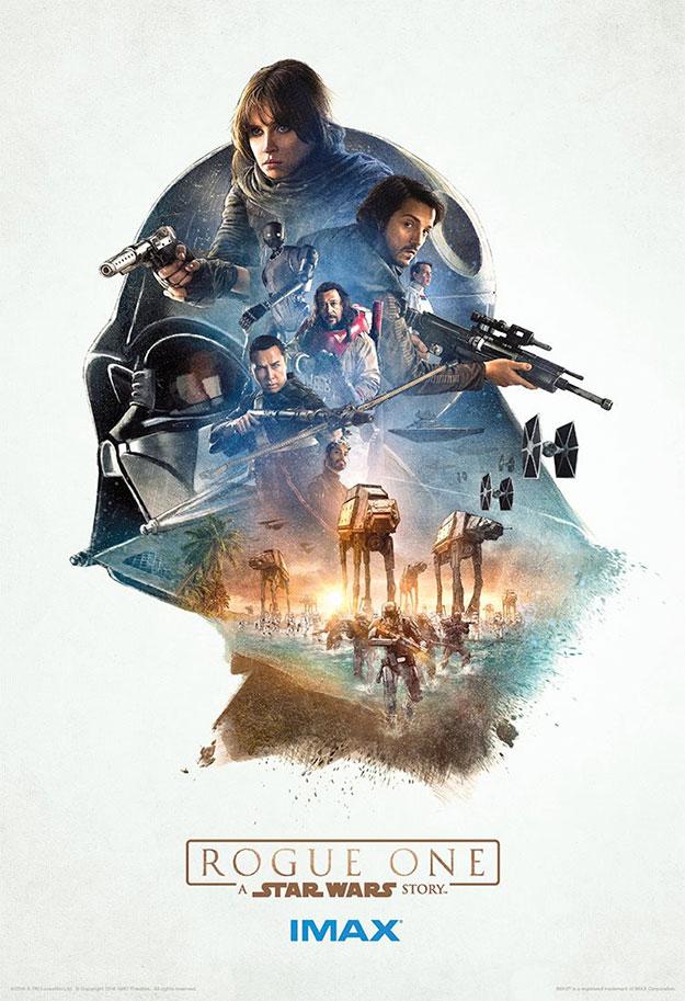 Uno de los mejores carteles de Rogue One: Una Historia de Star Wars