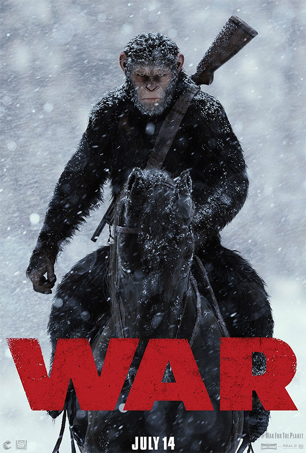 Primer cartel de War of the Planet of the Apes
