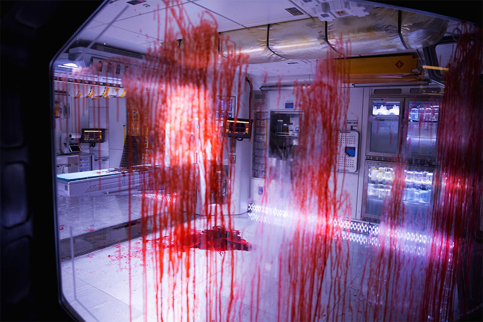 Sangre por todas partes en Alien: Covenant