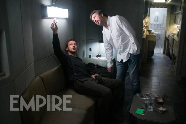 En el rodaje de Blade Runner 2049