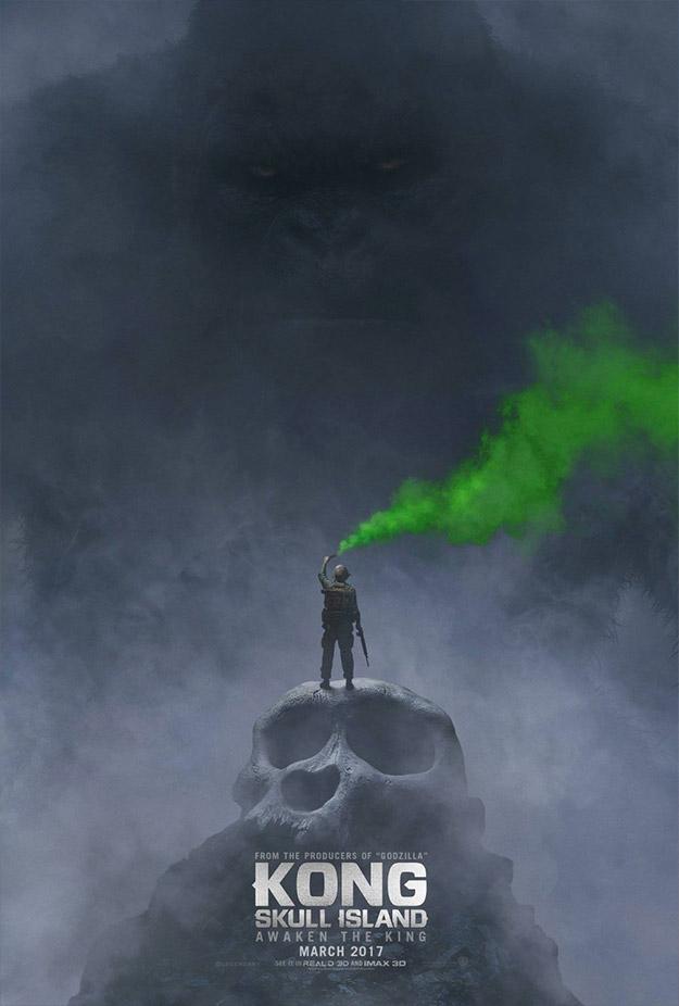 Kong: Skull Island... cuando la criatura es para cagarse