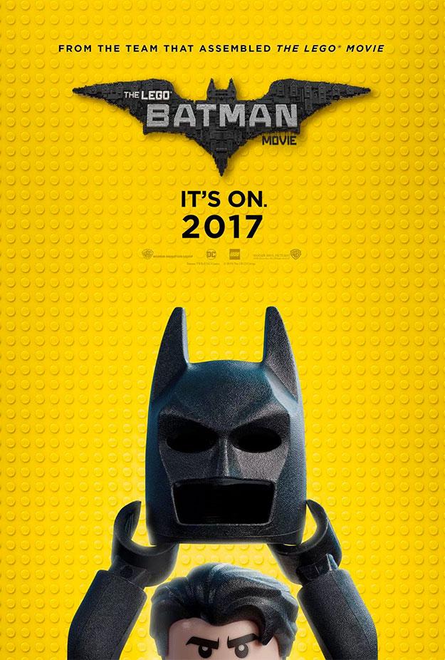 Simpático cartel de The Lego Batman Movie