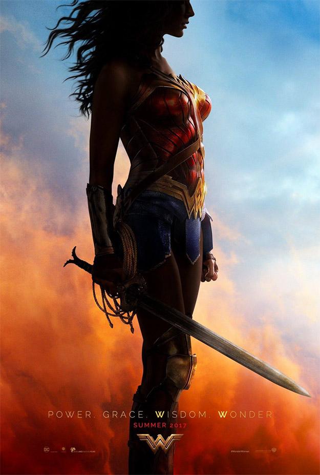 Este cartel de Wonder Woman es... fabuloso